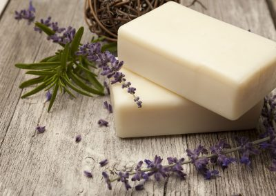 Soap-with-lavender
